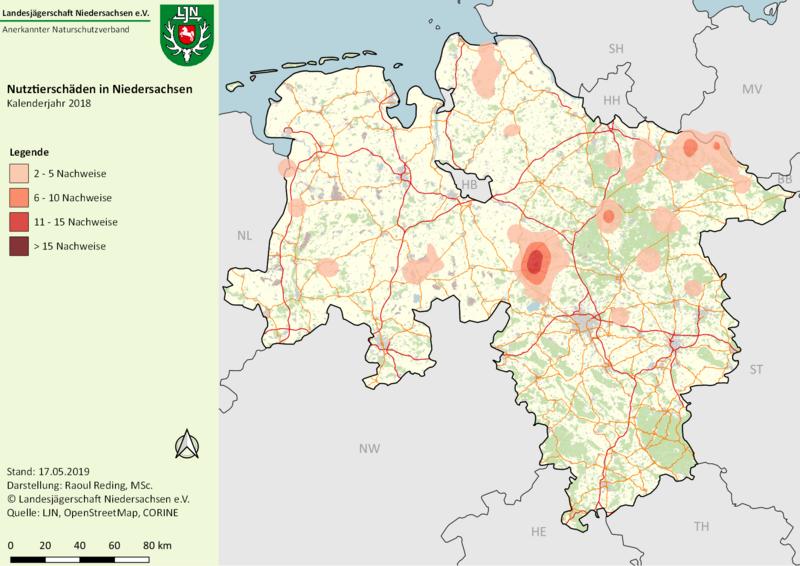 Wolfsmonitoring: Nutztierschäden In Niedersachsen